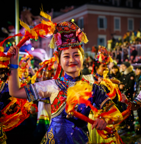 Chinese New Year celebration at the Carnival of Nice