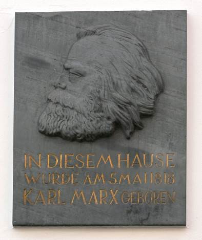Unveiling of Karl Marx Sculpture made by Chinese Artist