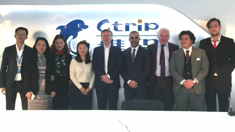 Ctrip teaming up with ECTY