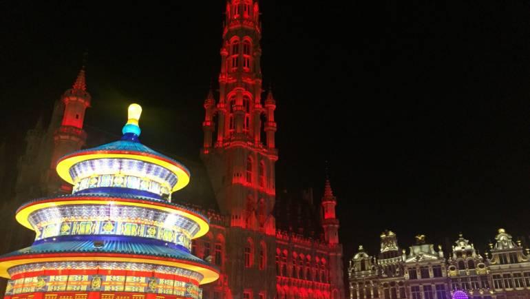 Landmarks across Europe honour the EU-China Tourism Year